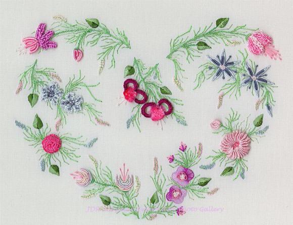 Вышивка в стиле рококо схема