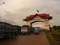 Вьетнамский городок Лао Бао расположен на границе с Лаосом располагается на реке Сепон