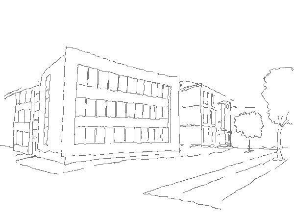 как рисовать здания карандашом: