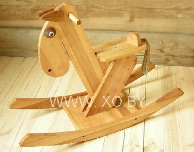 Деревянная качалка для детей