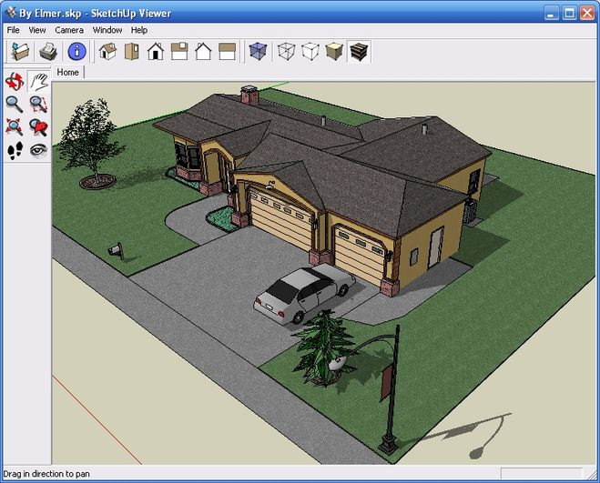 программа для создания макета дома