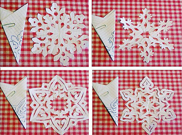 Снежинки своими руками из бумаги фото схемы