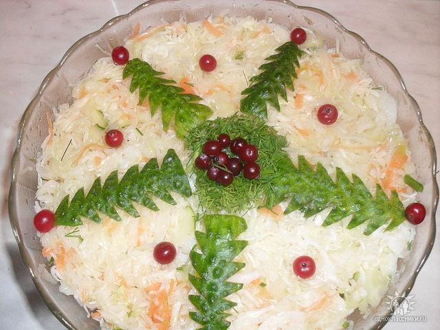 Салат на новый год в домашних условиях рецепт