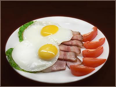 яичница- быстро, дешево, сердито! Холостяцкая еда