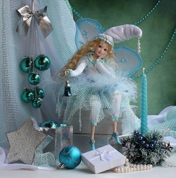 Новогодние украшения для кукол своими руками 28