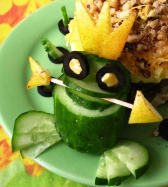 Как сделать лягушка из перца и 291