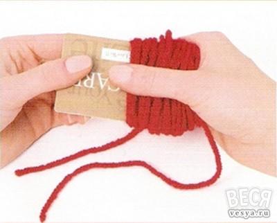 Как правильно сделать бамбошку для шапки
