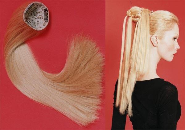 Накладные волосы на заколках - как правильно крепить и