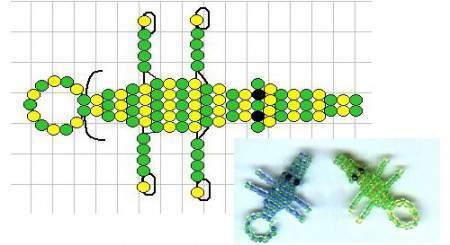 Крокодил из бисера - достаточно простая поделка, ее начинают...  Думаю, что при усердии, должно все получиться.