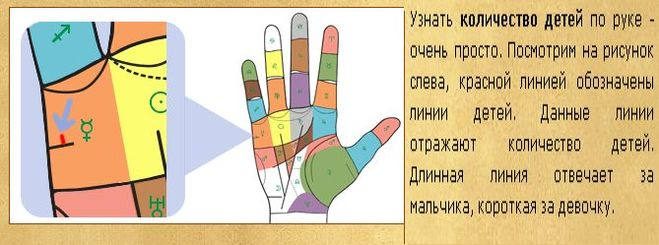 детей по руке: