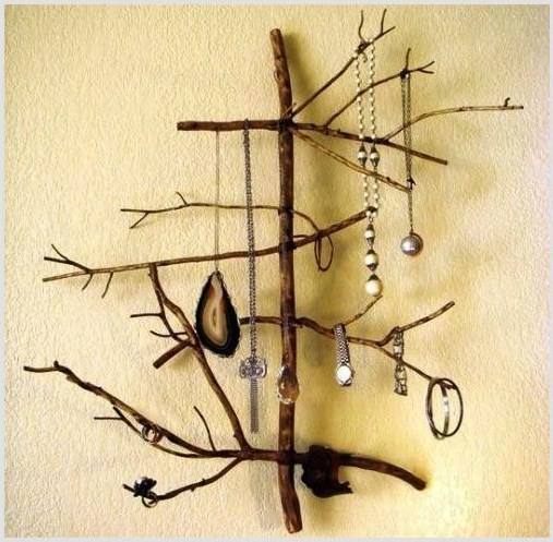 Дерево из дерева для украшений своими руками