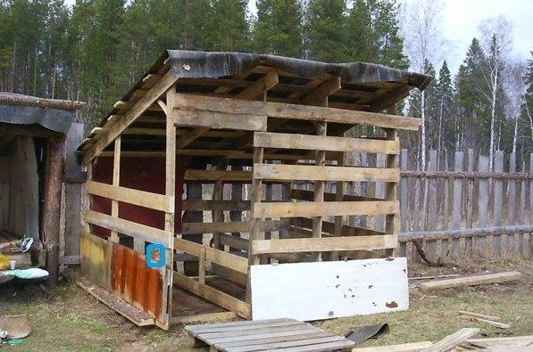 Построил дачный домик своими руками