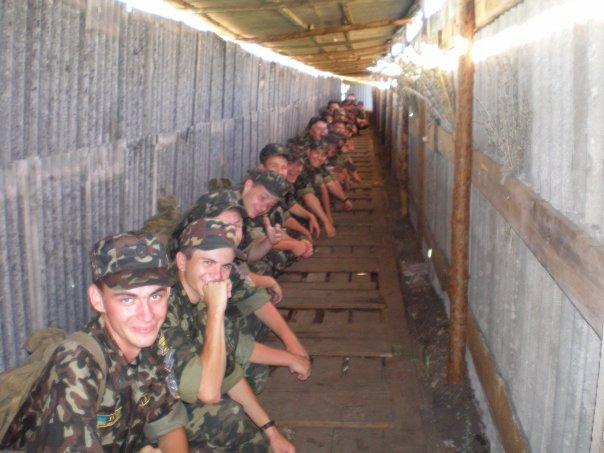 фото из армейской бани