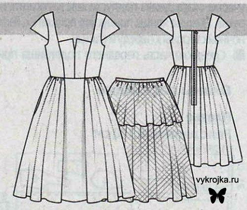 Как сшить себе юбку без выкройки фото 462