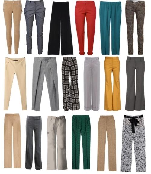 Женские брюки зима 2013-2014