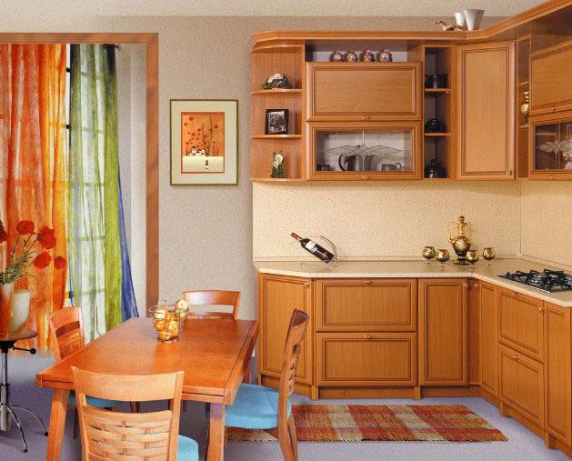 цвет ольха  кухни