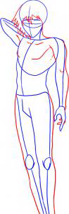 как нарисовать мальчика 2