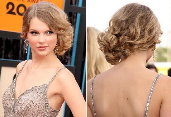 Прическа локоны на один бок короткие волосы