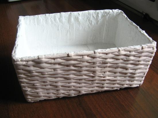 Как сделать коробку из трубочек из бумаги