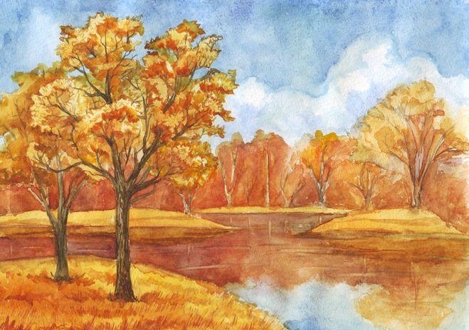Картинки на тему осенний лес