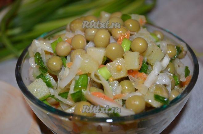 Рецепт салата из квашеной капусты