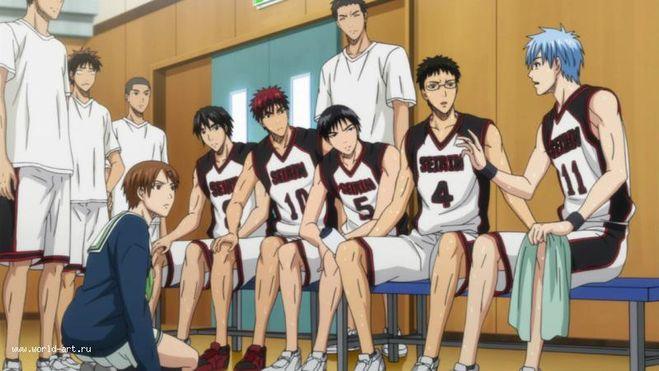баскетбол куроко 2 сезон 2 серия скачать