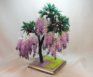 Как сделать бисерное дерево своими руками
