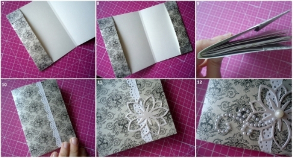 Как сделать из бумаги книгу схема фото 222