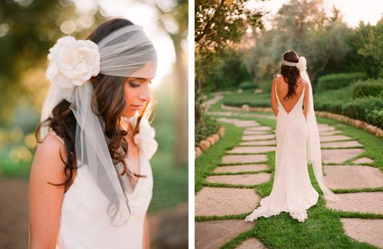 Интересные прически к свадьбе