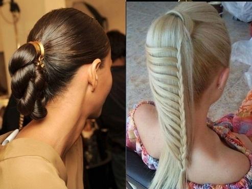 Такая коса напоминает образ