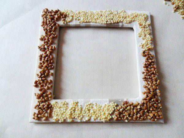Как оформить рамку своими руками фото