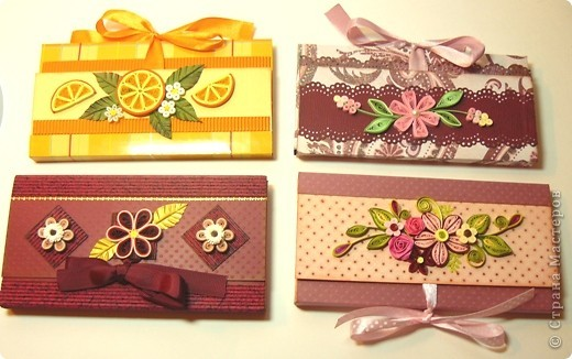 Упаковки для шоколадок своими руками