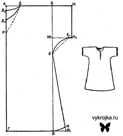 Сорочка 6 класс как сшить