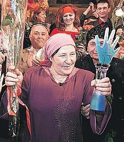 """Победителем четвертого сезона шоу """"Битва экстрасенсов"""" стала таджикская провидица Турсуной Закирова"""