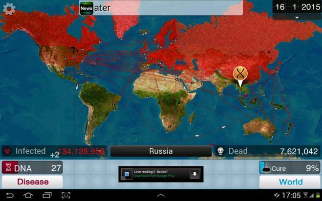 игра, где нужно заразить весь мир вирусом