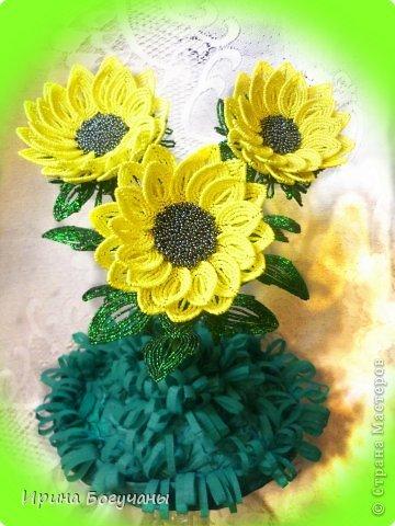 Цветок подсолнух мастер класс