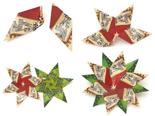 Какие поделки из модульное оригами