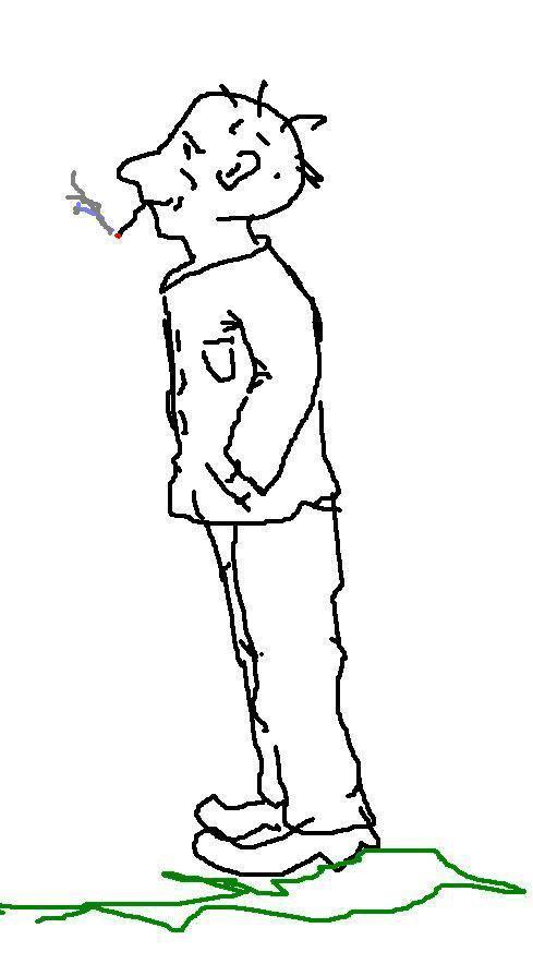 Как рисовать человека стоя в профиль?: www.bolshoyvopros.ru/questions/50428-kak-risovat-cheloveka-stoja-v...